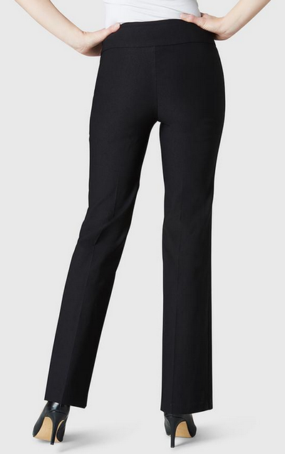 Boot Cut Pant-black-back
