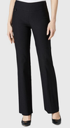 Boot Cut Pant-black-front