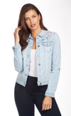 Pastel Embroidered Jacket-celestial-front