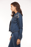 Embroidered Denim Jacket-side