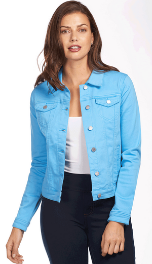 Classic Jean Jacket - Soft Hues Denim-bluemoon-front