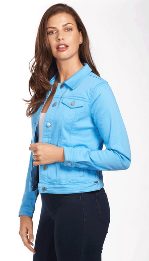 Classic Jean Jacket - Soft Hues Denim-bluemoon-side