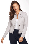 Classic Jean Jacket - Soft Hues Denim-silver-front