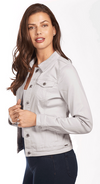 Classic Jean Jacket - Soft Hues Denim-silver-side