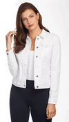 Classic Jean Jacket - Soft Hues Denim-white-front