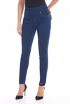 Pull-On Slim Ankle - D-Lux Denim_Indigo_Front