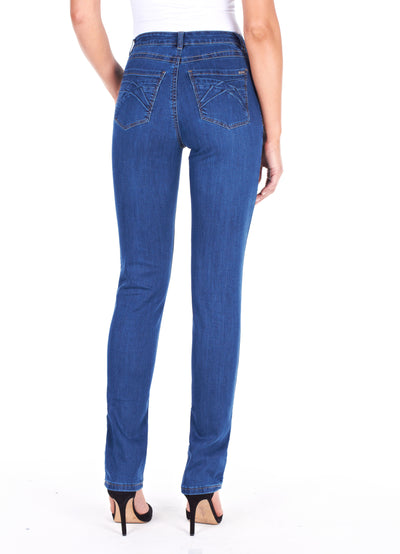 Olivia Slim Leg - Supreme Denim_Delight Wash_Back