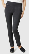 "Hollywood 31"" Slim Pant-charcoal-front"