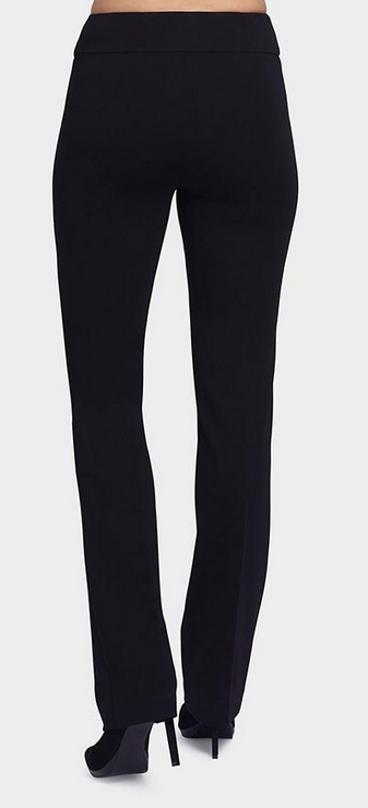 "33"" Straight Pant-black-back"