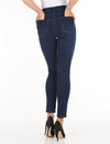 Olivia Slim Ankle - Comfy Denim_Indigo_Back