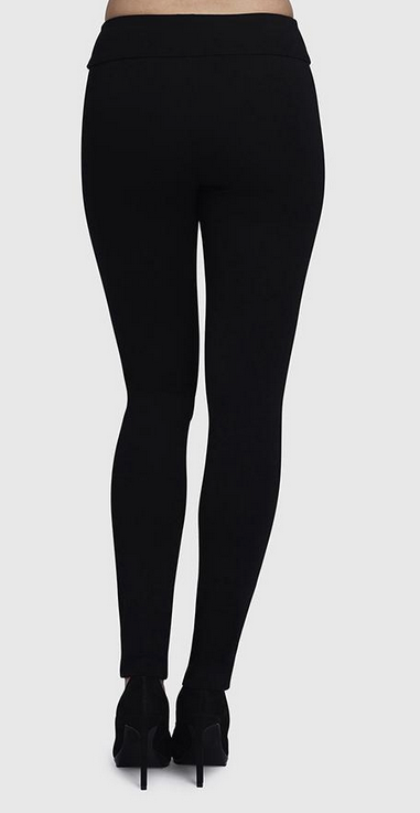 "31"" Thinny Pant in Hollywood Fabric-black-back"