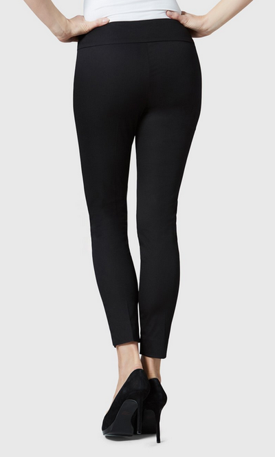 "Jupiter Cotton Stretch - 28"" Slim Ankle-black-back"
