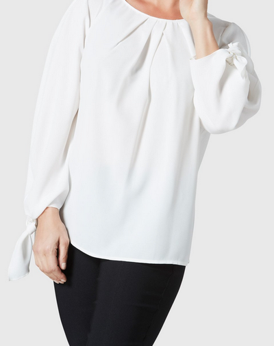 Lola Blouse-offwhite-side