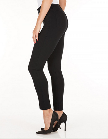 Olivia Slim Leg - Technoslim_Black_Side