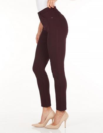 Olivia Slim Leg - Technoslim_Vino_Side