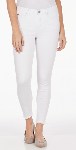 Olivia Ankle - Soft Hues Denim-white-front