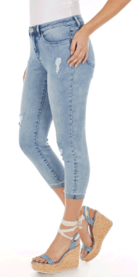 Olivia Roll Up Crop-skywash-side