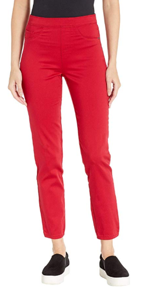 Pull-On Ankle - D-Lux Denim-red-front