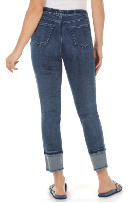 Pull-On Ankle - Statement Denim-bluedenim-back