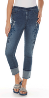 Pull-On Ankle - Statement Denim-bluedenim-front