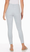 Olivia Slim Ankle - Stripe Denim-chambray-back