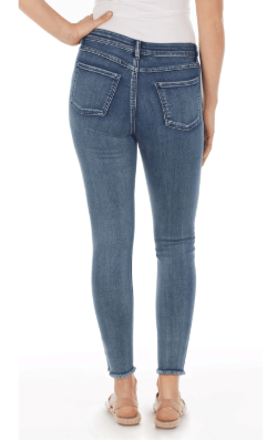 Olivia Slim Ankle - Statement Denim-splendidindigo-back
