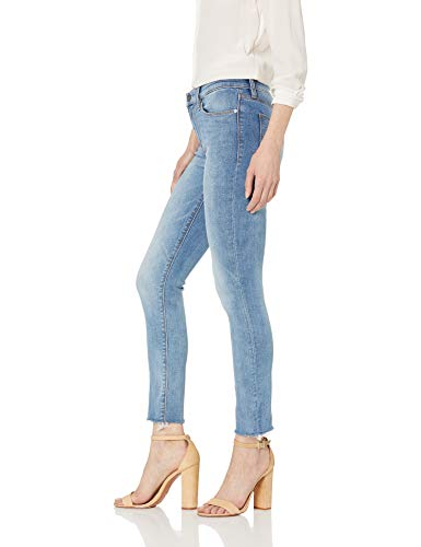 Tally Midrise Skinny Crop 5 Pocket Jean