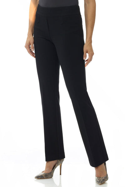 Secret Figure Pull-On Knit Bootcut Pant w/Tummy Control