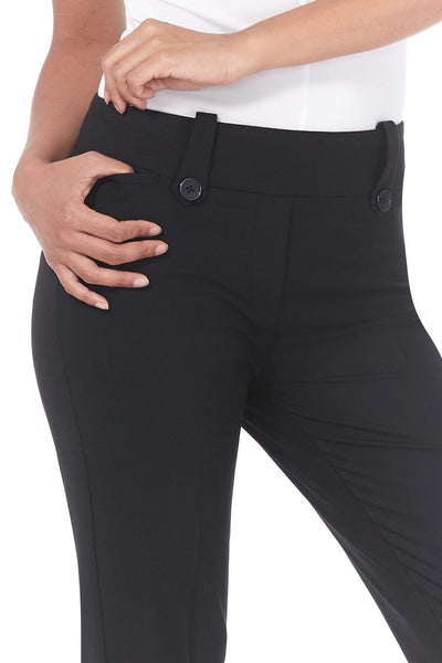 Smart Desk to Dinner Stretch Bootcut Pant w/Tummy Control