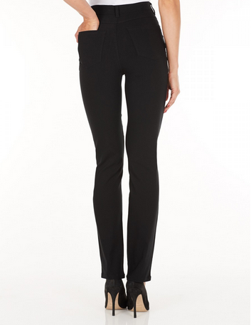 Suzanne Straight Leg - Technoslim Black Back