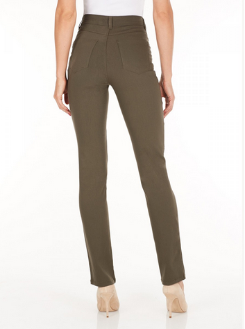 Suzanne Straight Leg - Technoslim Olive Back