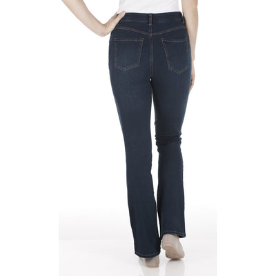 Peggy Bootcut - Comfy Denim_Indigo_Back