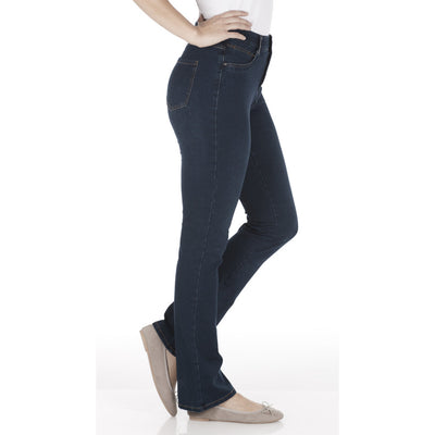 Peggy Bootcut - Comfy Denim_Indigo_Side