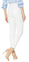 Suzanne Slim Ankle - Soft Hues Denim-white-back