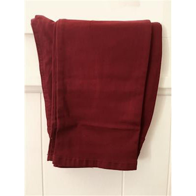 Suzanne Straight Leg - Sunset Hues-cranberry-swatch