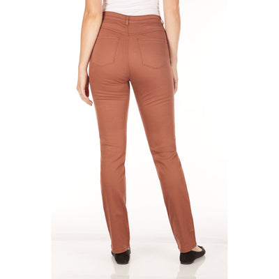 Suzanne Straight Leg - Sunset Hues-cognac-back