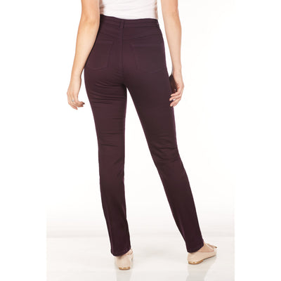 Suzanne Straight Leg - Sunset Hues-plum-back