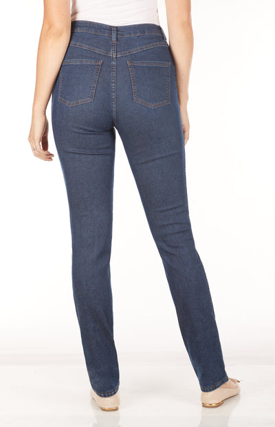 Suzanne Straight Leg - Reversible-indigo-back
