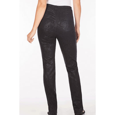Crackle Denim Suzanne Straight Leg