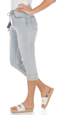 Suzanne Capri - Statement Denim-celestial-side