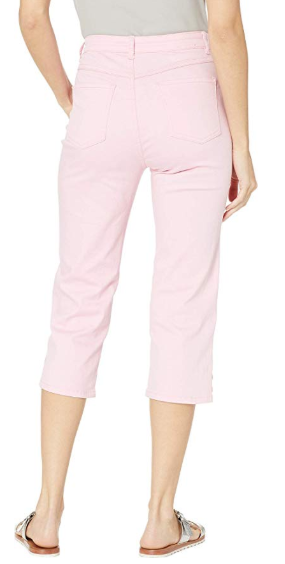 Suzanne Capri - Soft Hues Denim-pink-back