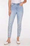 Suzanne Slim Ankle - Statement Denim-coolblue-front