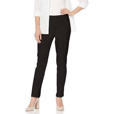 Flatten It Pull-On Slim Leg Ankle Pant