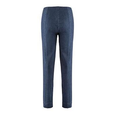 Ina Denim Pants-dark blue denim-back
