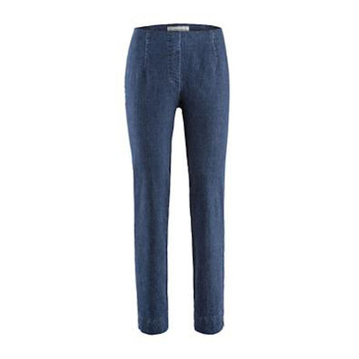 Ina Denim Pants-dark blue denim-front
