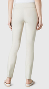 "Solid Magical Lycra 31"" Slim Pant-beige-back"