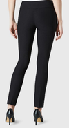 "Solid Magical Lycra 31"" Slim Pant-black-back"