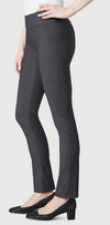"Solid Magical Lycra 31"" Slim Pant-dark slate-side"