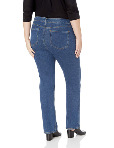 Plus Size Marilyn Straight Leg Jeans