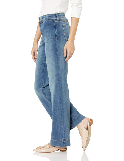 Teresa Trouser Jeans in Premium Denim